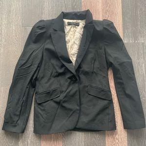Zara puffed shoulder blazer size L